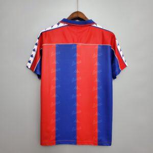 חולצת Retro קצרה בית ברצלונה 92/95