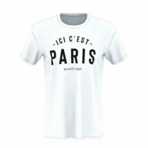 21-22 -ICI C' EST- PARIS White Training shirts